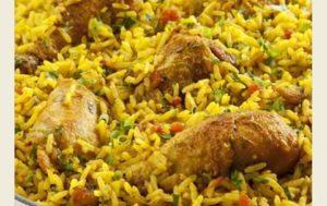 Recette de cuisine galinhada facile du brésil